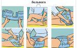 Как одевать памперс взрослому: последовательность и приемы