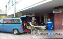Как доставить лежачего больного: из больницы домой или в больницу