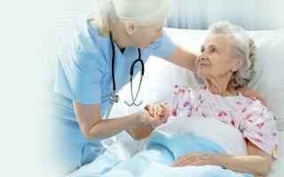 Приходящая сиделка для пожилого человека или инвалида