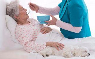 Уход за пожилым человеком или лежачим больным