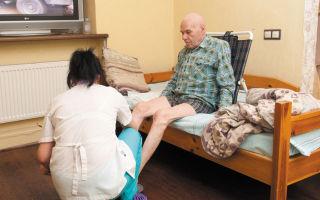 Особенности сиделки больному после инсульта