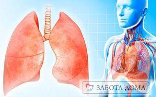 Застой, отек и воспаление легких у лежачего больного
